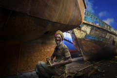 ABP CM-MOHAMMED RIMON-SHIPYARD LABOUR-Bangladesh