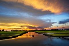 FIP HM Ribbon-Khandaker Mufizul Islam -Twiligt in the river-Bangladesh